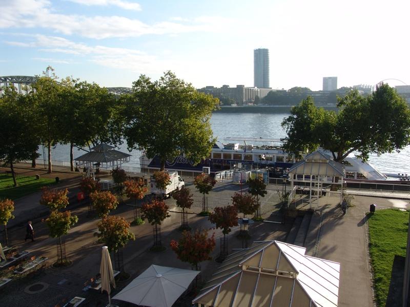 Köln aus dem Hotelzimmer