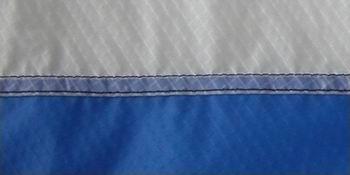 Doppelte Kappnaht von hinten